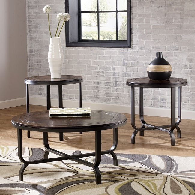 Ferlin 3-Piece Occasional Table Set