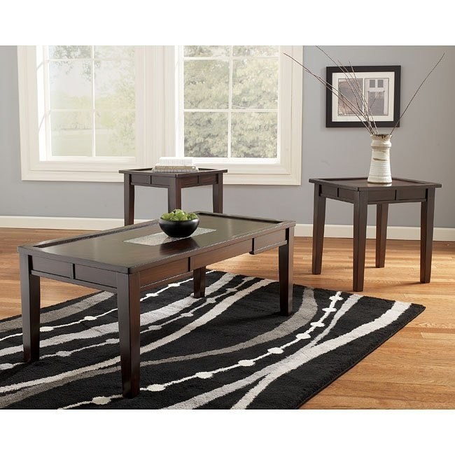 Ocean Park 3-Piece Occasional Table Set