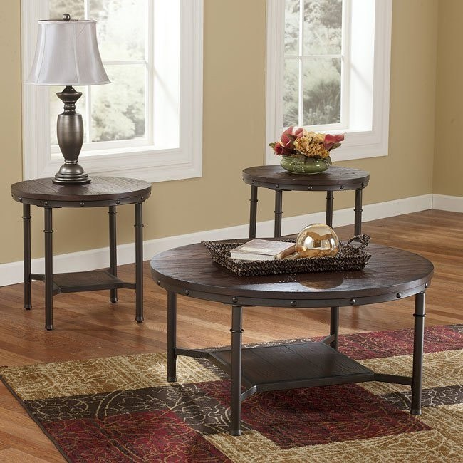 Sandling 3-Piece Occasional Table Set
