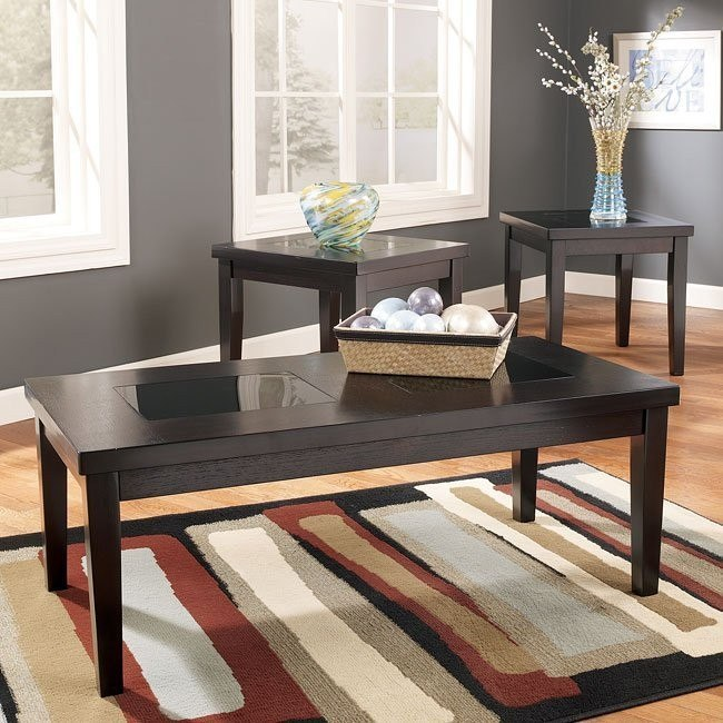Denja 3-Piece Occasional Table Set