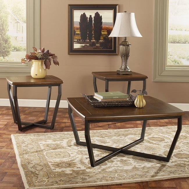 Shordeen 3-Piece Occasional Table Set