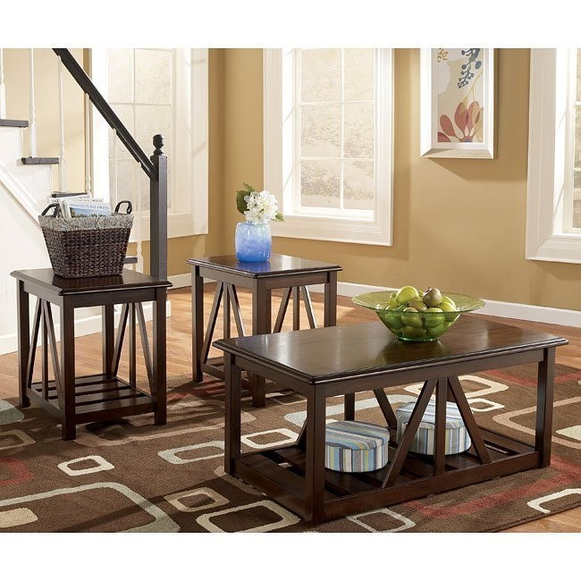 Hopper 3-in-1 Occasional Table Set