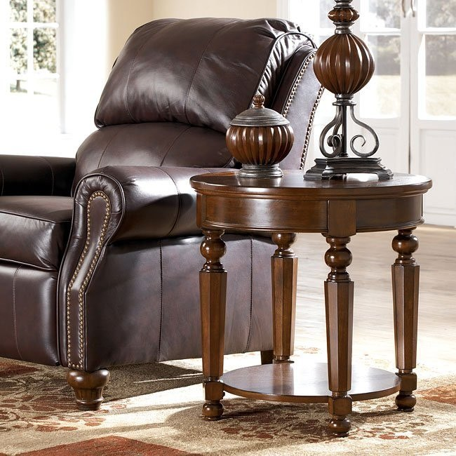 Hambly Round End Table