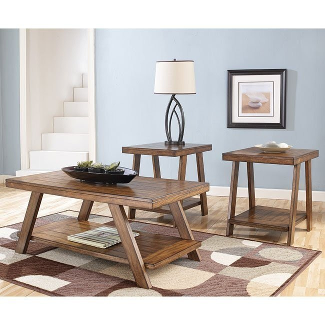 Bradley 3-in-1 Occasional Table Set