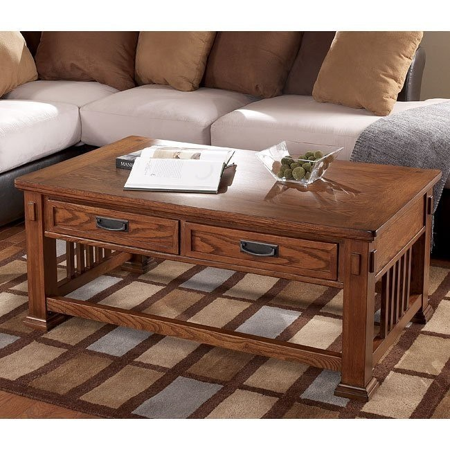 Cross Island Rectangular Cocktail Table