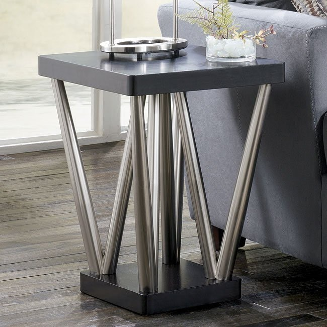 Ajay Square End Table