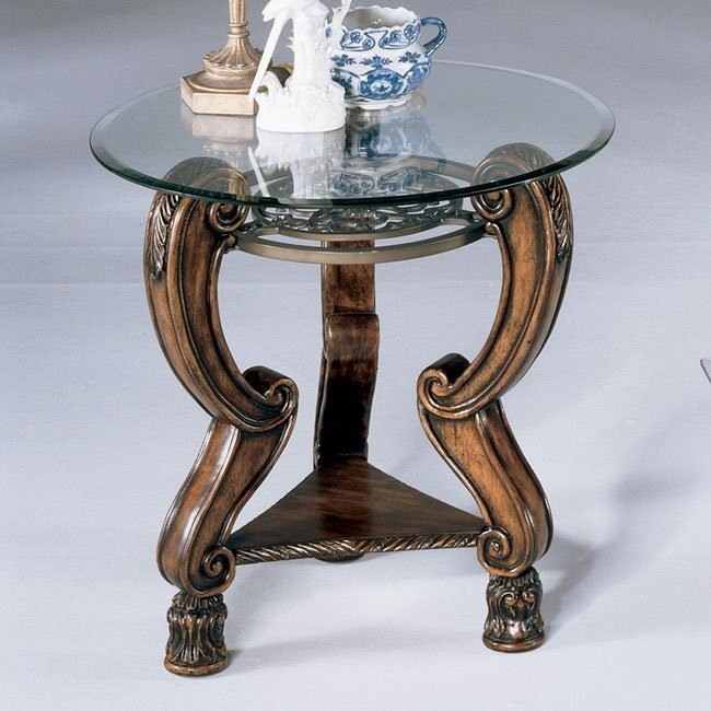 Margilles Round End Table