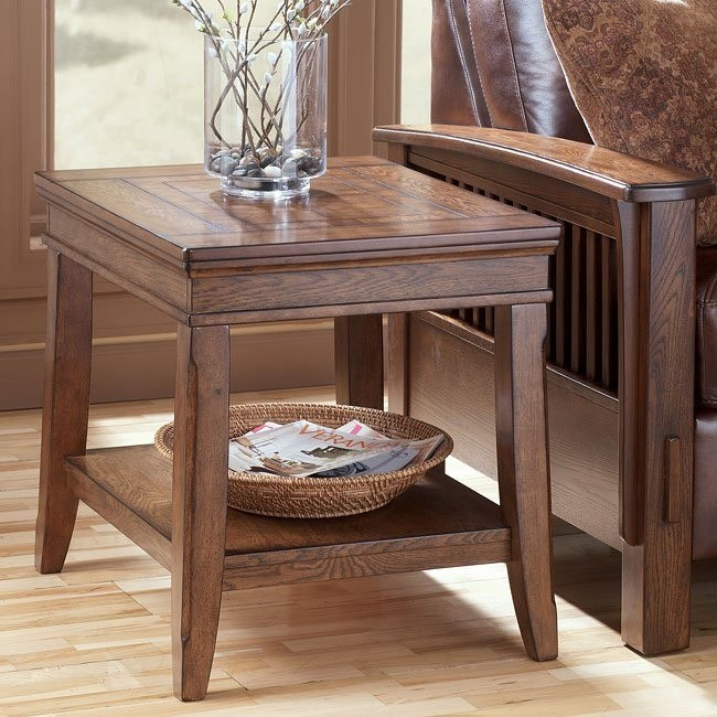 Kelvin Hall Rectangular End Table