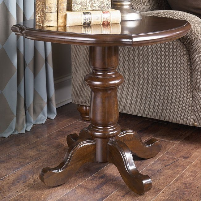 Barclay Place Round End Table