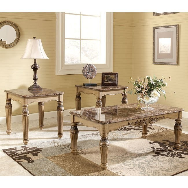 South Coast 3-in-1 Occasional Table Set
