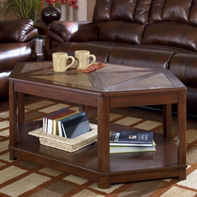 Maddox Wedge Cocktail Table