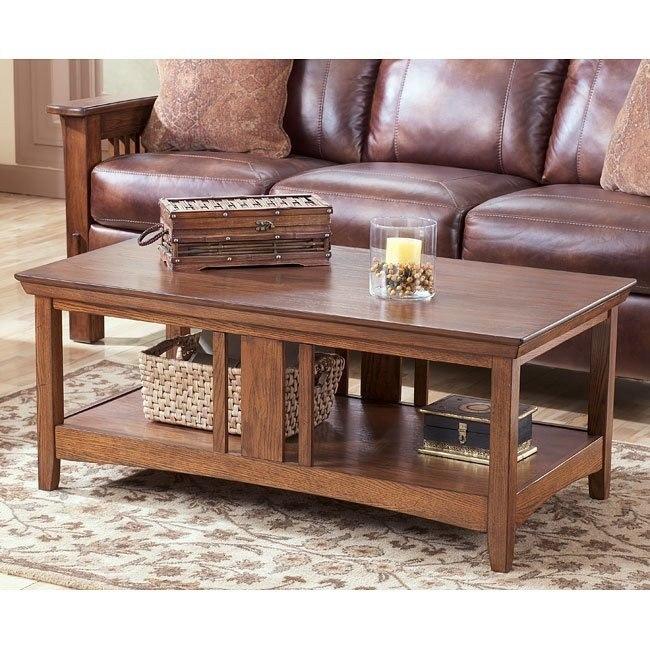 Prairie View Rectangular Cocktail Table