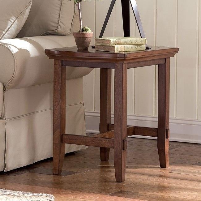 Burkesville Chair Side End Table