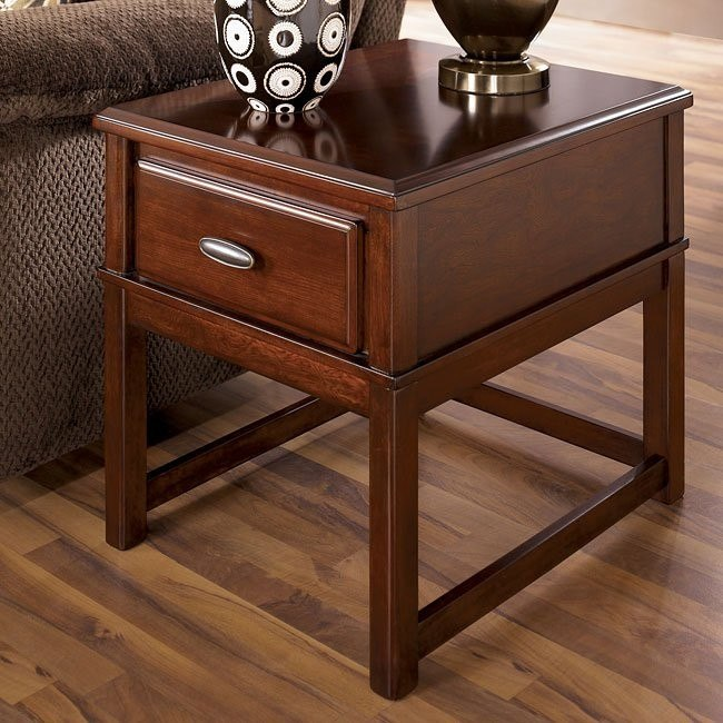 Lance End Table w/ Drawer