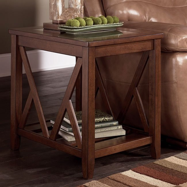 Boarder Rectangular End Table