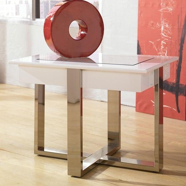 Jansey Rectangular End Table