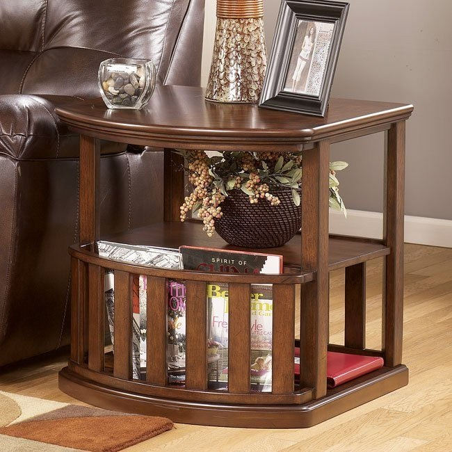 Caleb Half Round End Table