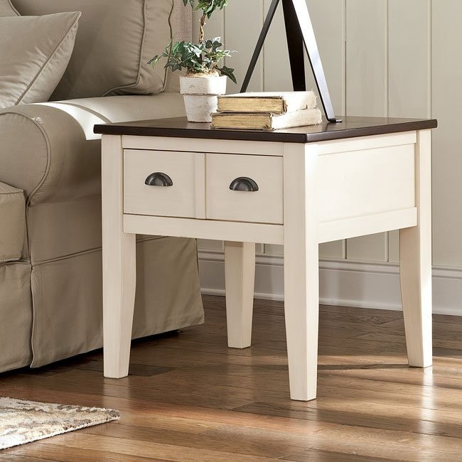 Whitesburg Square End Table