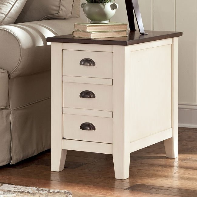 Whitesburg Chair Side End Table