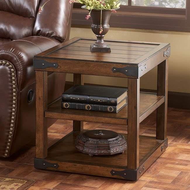 Shepherdsville Rectangular End Table