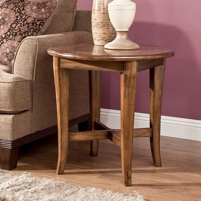 Lake County Round End Table