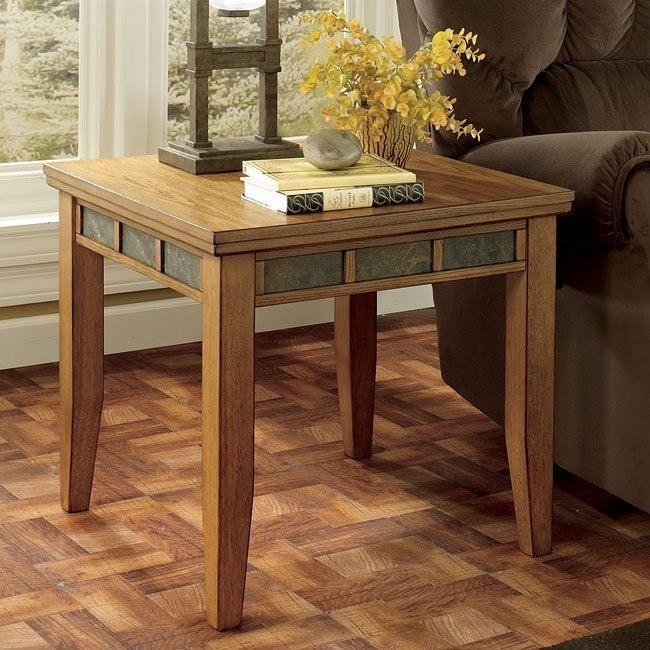 Kinley Square End Table