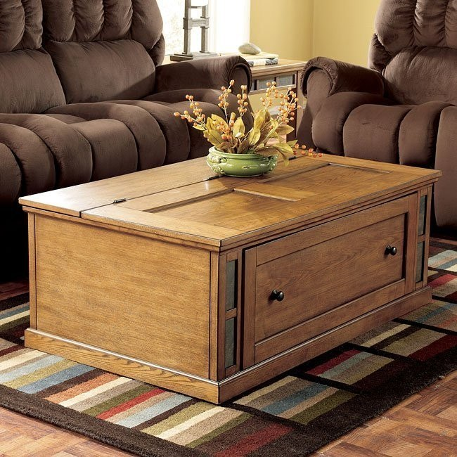 Kinley Storage Cocktail Table