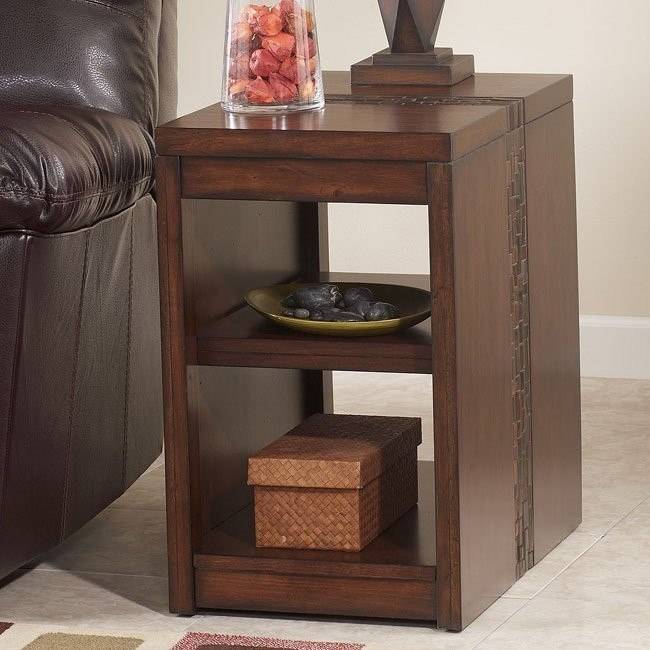 Brockland Rectangular Chairside End Table