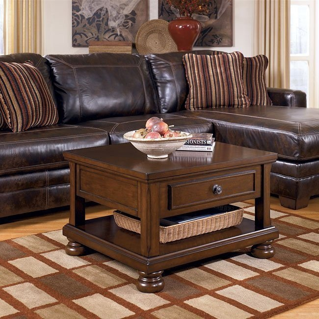 Porter Lift-Top Occasional Table Set