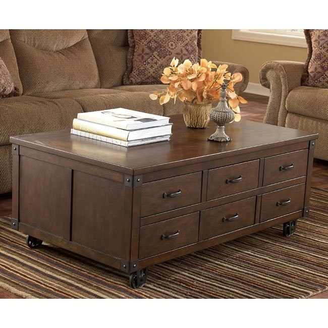 Kordell Cocktail Table with Storage