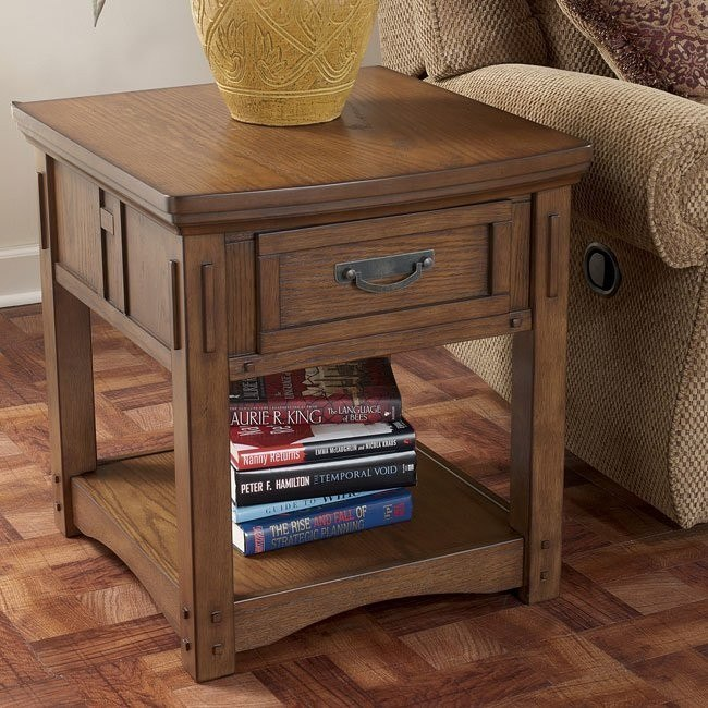 Kelvin Hall Rectangular End Table