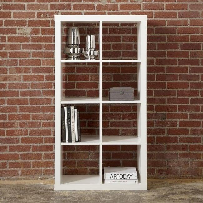 Honolulu White Medium Bookcase
