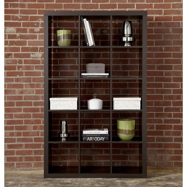 Honolulu Espresso Large Bookcase