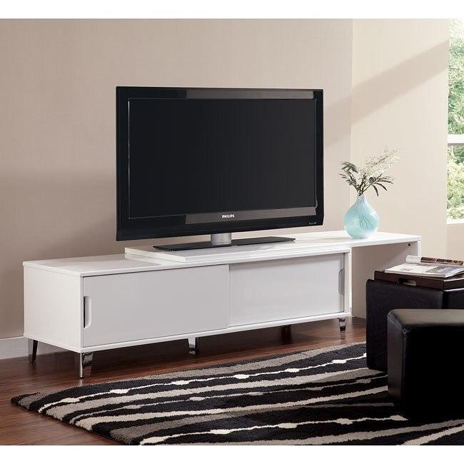 Culverden Large TV Stand w/ Sliding Top
