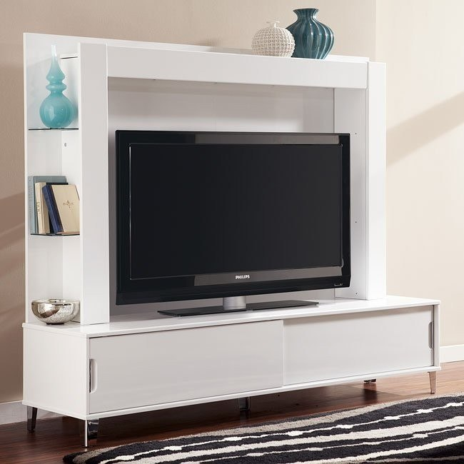 Culverden Extra Large TV Stand w/ Back Panel