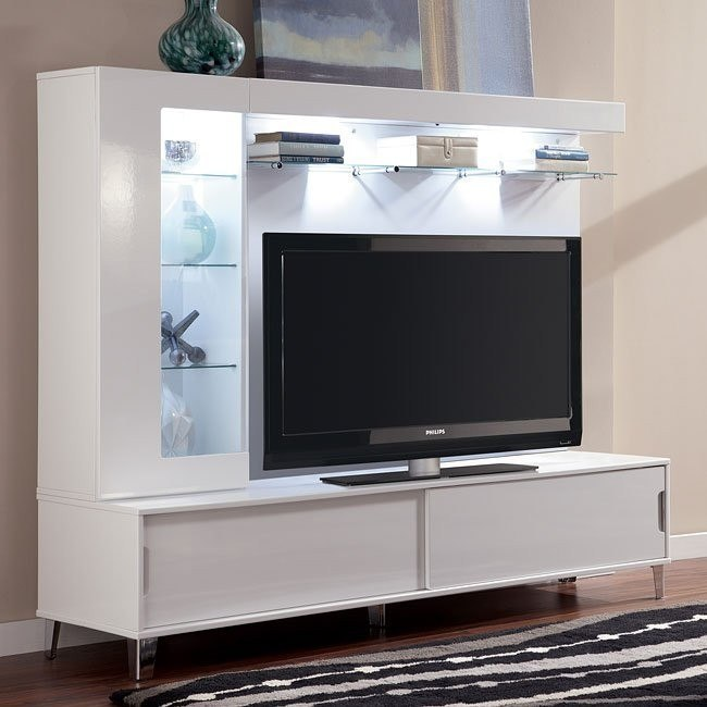 Culverden Extra Large TV Stand w/ One Pier and Bridge