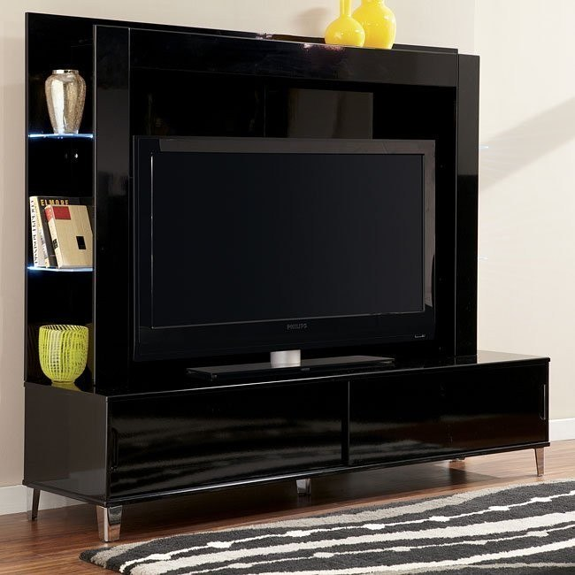 Howick Extra Large TV Stand w/ Back Panel