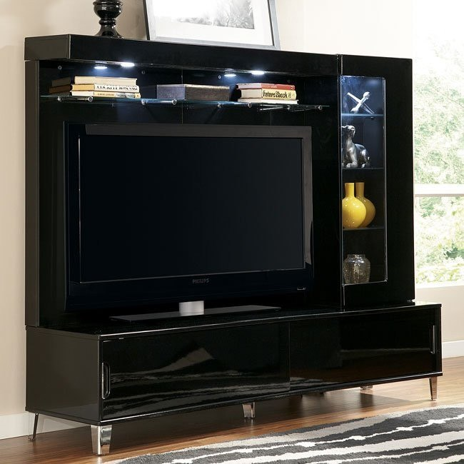 Howick Extra Large TV Stand w/ One Pier and Bridge