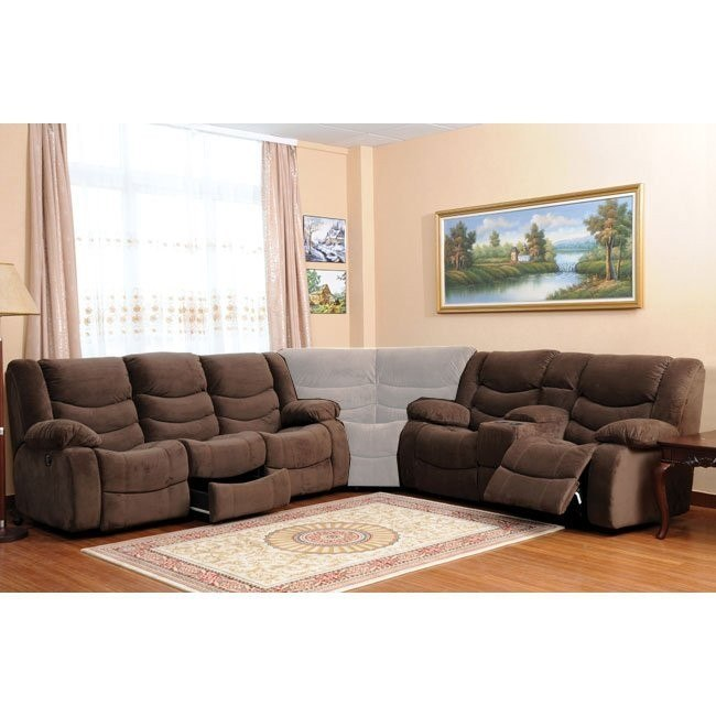 Corey Motion Living Room Set (Chocolate)