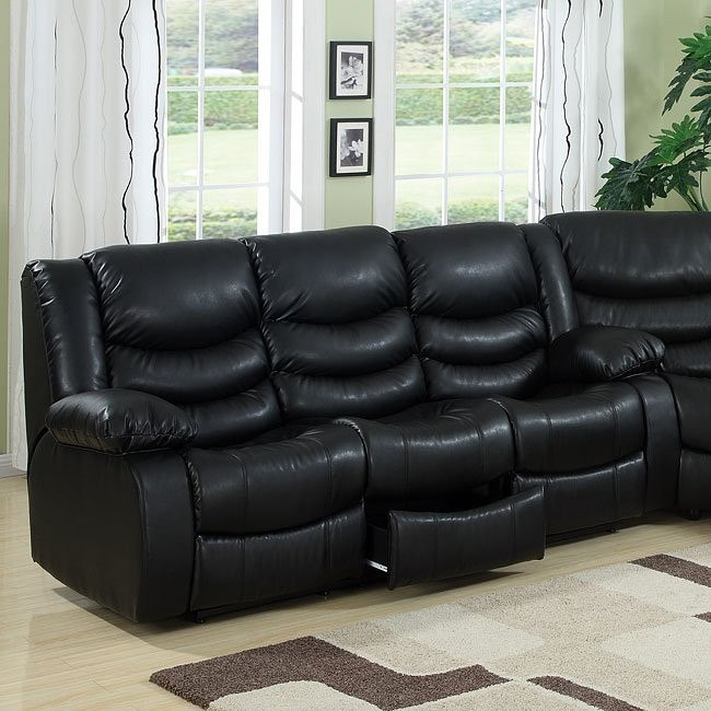 Calvin Power Motion Sofa (Black)
