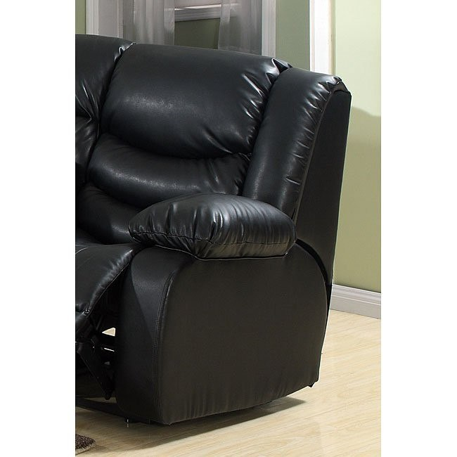 Calvin Rocker Recliner (Black)