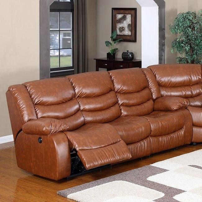 Calvin Power Motion Sofa (Brown)