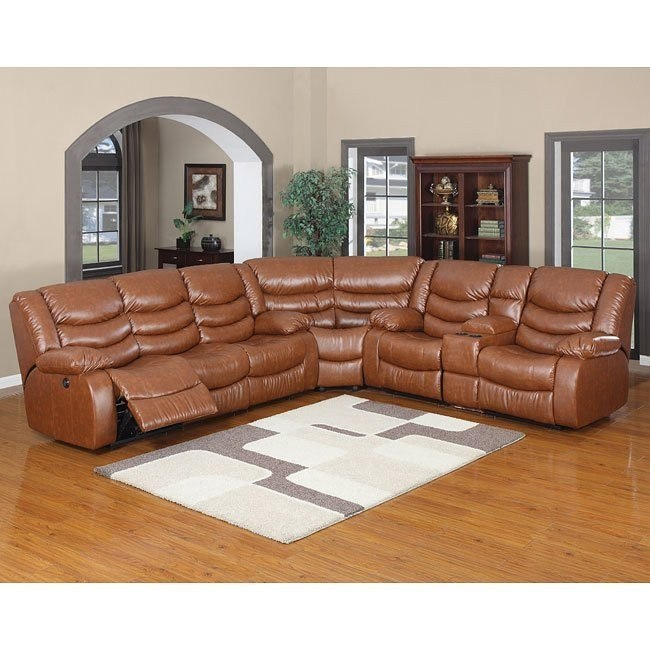 Calvin Motion Sectional (Brown)