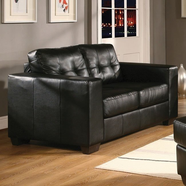 Tristan Loveseat (Black)