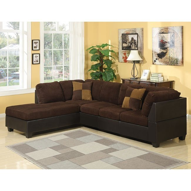 Connor Sectional (Chocolate)