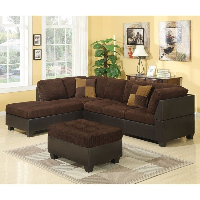 Connor Sectional Set (Chocolate)
