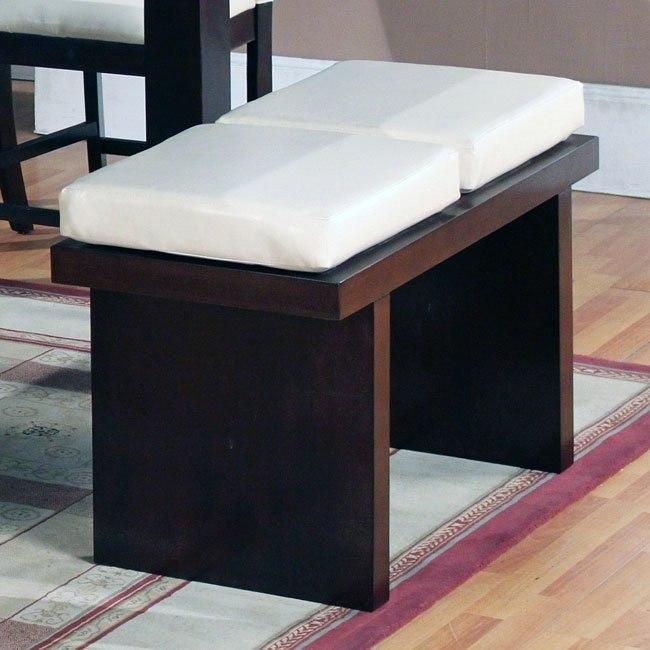 Modern Counter Height Bench