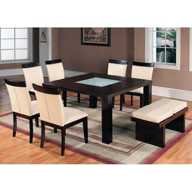 Modern Dining Room Set w/ Bench