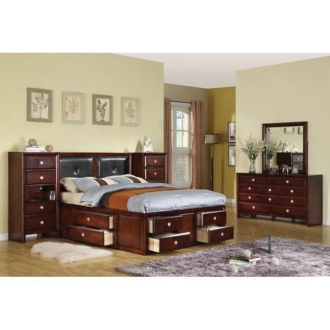 Addison Bedroom Set w/ Captain Bed