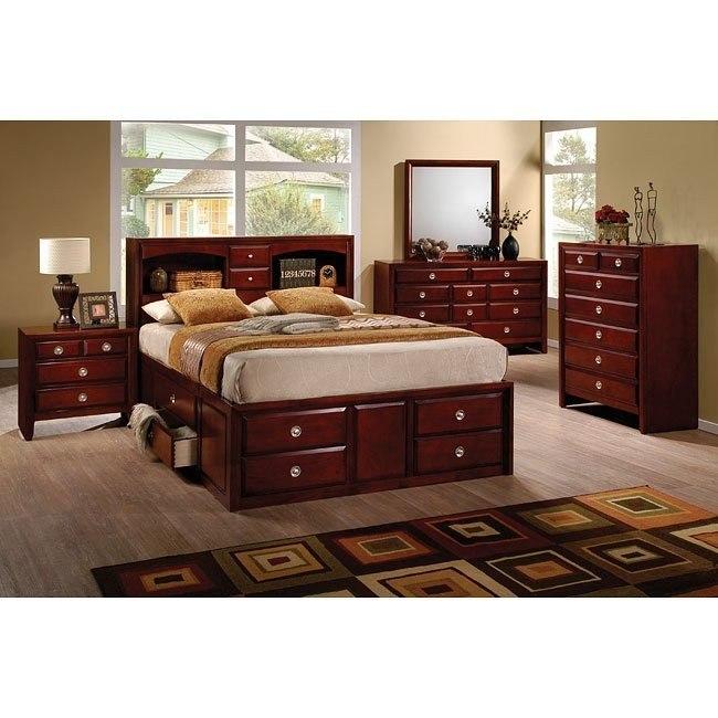 Addison Bedroom Set w/ Storage Bed